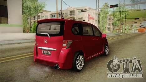 Honda Freed 2014 for GTA San Andreas right view