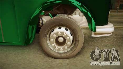 1114 (Bus) Recortado a Camion for GTA San Andreas back view