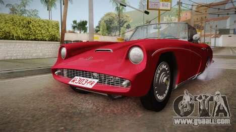 FSO Syrena Sport 2.0 1960 for GTA San Andreas right view