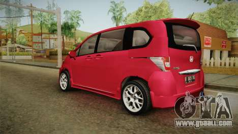 Honda Freed 2014 for GTA San Andreas left view