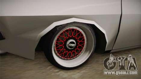 Dacia 1310 TX Low for GTA San Andreas back view