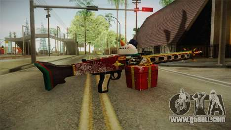 Vindi Xmas Weapon 1 for GTA San Andreas second screenshot