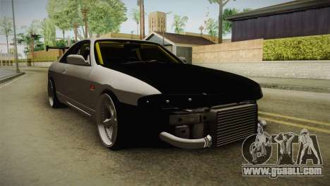 Nissan Skyline R33 Drift for GTA San Andreas right view