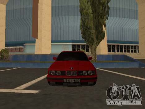 BMW E34 for GTA San Andreas right view