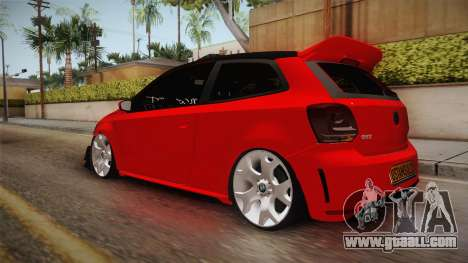 Volkswagen Polo Maskot for GTA San Andreas left view