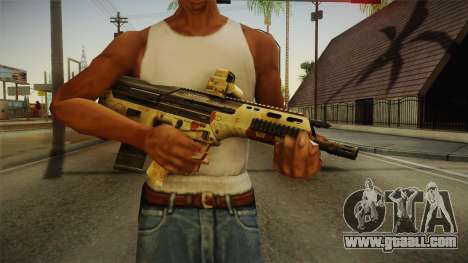 DesertTech Weapon 2 Camo for GTA San Andreas third screenshot