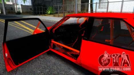 VAZ 2108 Drag for GTA San Andreas inner view
