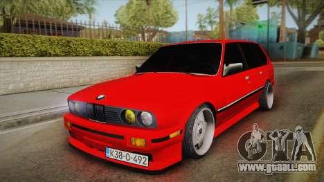 BMW 3 Series E30 Touring 3.8 BiTurbo for GTA San Andreas