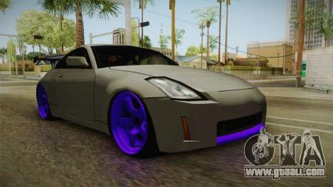 Nissan 350Z Drift for GTA San Andreas right view