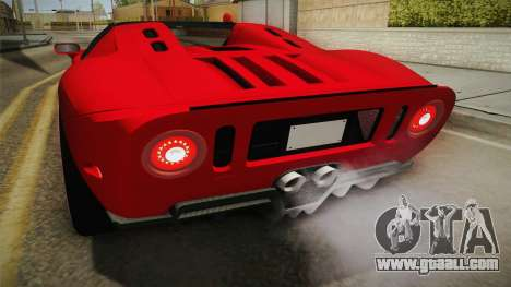 Ford GTX1 FBI for GTA San Andreas interior