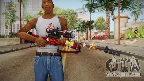 Vindi Xmas Weapon 7 for GTA San Andreas