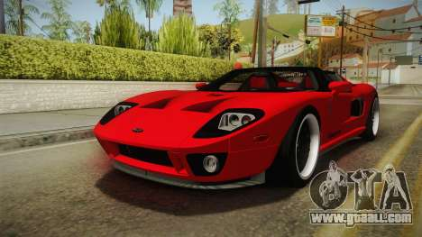 Ford GTX1 FBI for GTA San Andreas right view