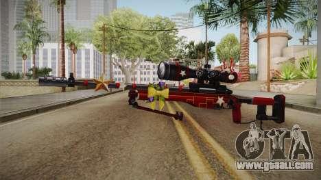 Vindi Xmas Weapon 7 for GTA San Andreas second screenshot