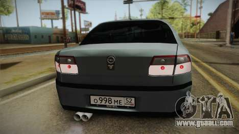 Opel Omega B for GTA San Andreas back view