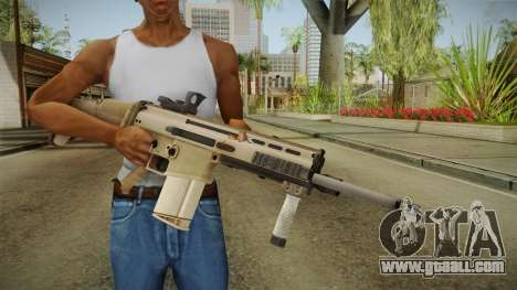 Battlefield 4 - FN SCAR-H for GTA San Andreas third screenshot