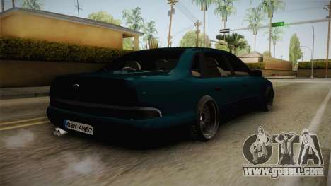 Ford Scorpio Mk2 V8 for GTA San Andreas left view