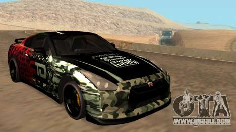 Nissan GTR R35 GTR CLAN for GTA San Andreas