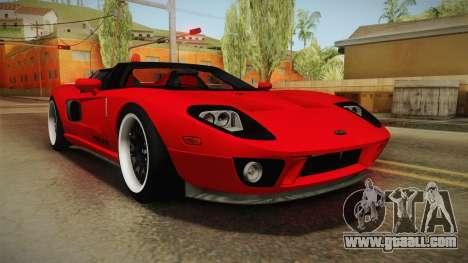 Ford GTX1 FBI for GTA San Andreas
