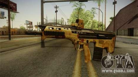 DesertTech Weapon 2 Camo for GTA San Andreas