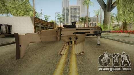 Battlefield 4 - FN SCAR-H for GTA San Andreas second screenshot