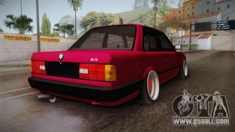 BMW 325i E30 Stance for GTA San Andreas right view