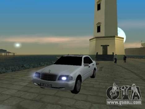 Mercedes-Benz C220 Armenian for GTA San Andreas