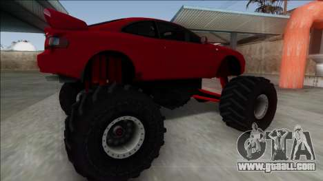 Toyota Celica GT-Four Monster Truck for GTA San Andreas left view