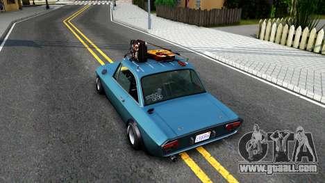 Lancia Fulvia for GTA San Andreas back view