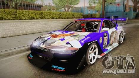 Nissan Silvia S15 Uras D1GP Mika Girl und Panzer for GTA San Andreas