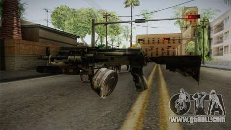 AK-47 with M203 for GTA San Andreas