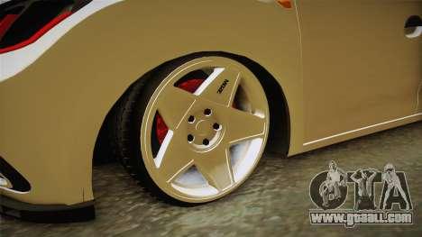 Renault Symbol for GTA San Andreas back view