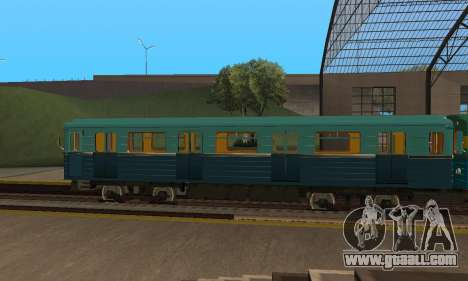 ST_M Metrovagon type Hedgehog for GTA San Andreas side view