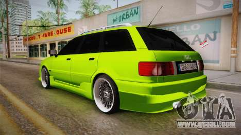 Audi 80 NFS for GTA San Andreas left view