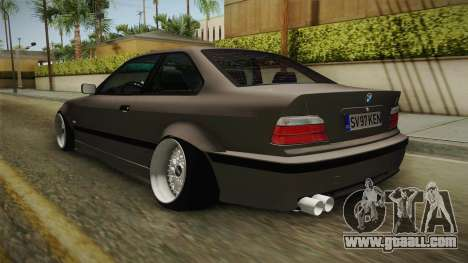 BMW 3 Series E36 ORDER for GTA San Andreas back left view