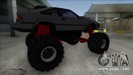 1984 Toyota Celica Supra MK2 Monster Truck for GTA San Andreas left view