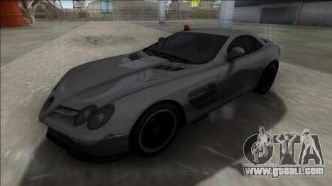 Mercedes-Benz SLR McLaren for GTA San Andreas