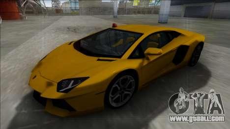 Lamborghini Aventador FBI for GTA San Andreas