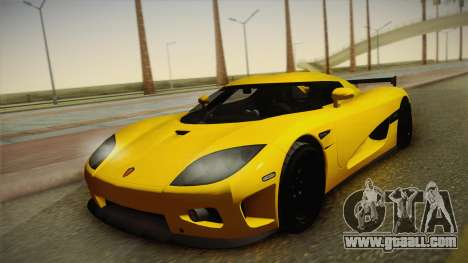 Koenigsegg CCXR for GTA San Andreas