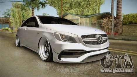 Mercedes-Benz A45 AMG 4Matic 2016 for GTA San Andreas