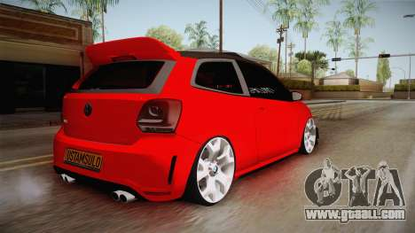 Volkswagen Polo Maskot for GTA San Andreas back left view