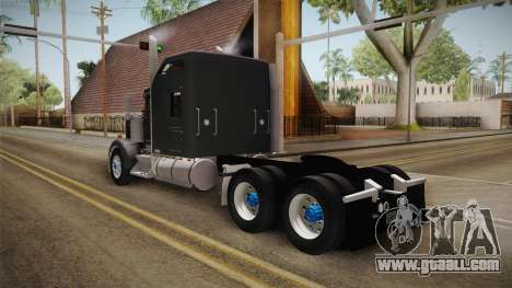 Kenworth W900 for GTA San Andreas left view