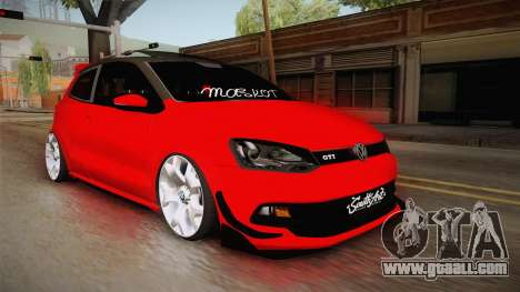 Volkswagen Polo Maskot for GTA San Andreas right view