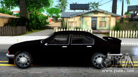 Sentinel Mafia From GTA 3 for GTA San Andreas left view