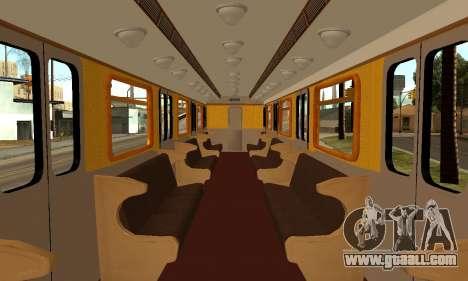 ST_M Metrovagon type Hedgehog for GTA San Andreas engine