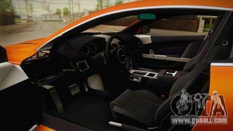 Aston Martin Virage 2012 for GTA San Andreas inner view