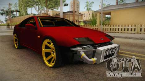 Nissan 300ZX Drift for GTA San Andreas right view