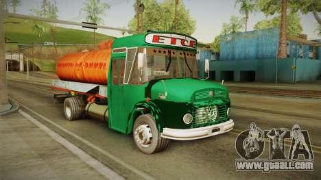 1114 (Bus) Recortado a Camion for GTA San Andreas