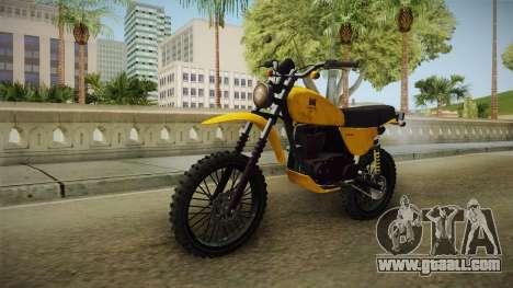 GTA 5 Dinka Enduro SA Style for GTA San Andreas right view