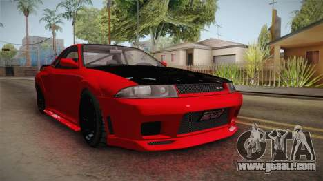 GTA 5 Annis Elegy Retro Custom IVF for GTA San Andreas right view