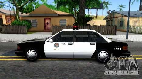 Declasse Premier LSPD for GTA San Andreas left view